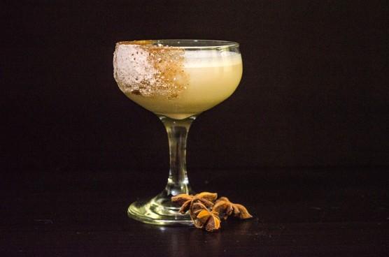 liquorice and cream